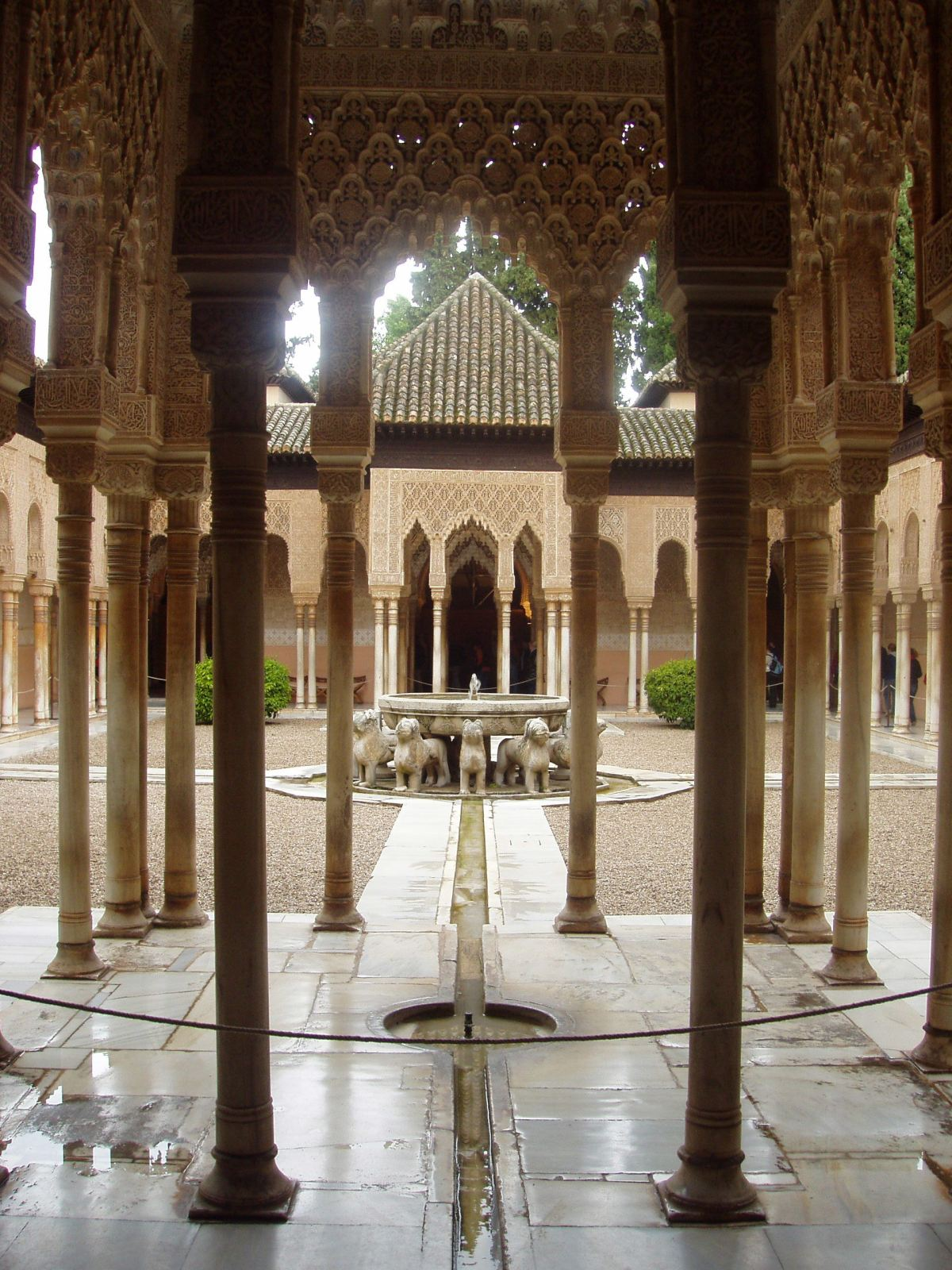 The Alhambra Palace, Granada