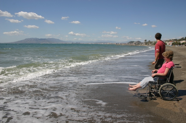 Beach at Torrox Costa